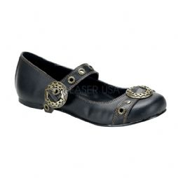 Costume- Ladies Steampunk 'Daisy' Flat Shoes